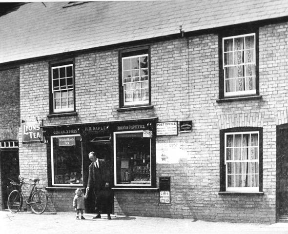 10.Herbert Rapley-shopkeeper &postmaster c.1925
