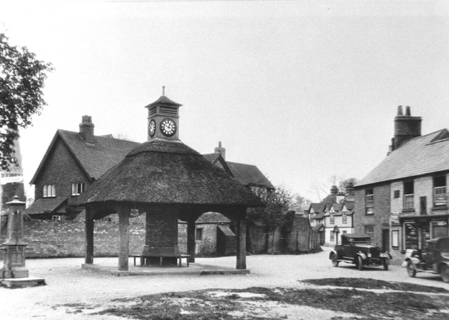 3.Houghton Green & Shop c 1920